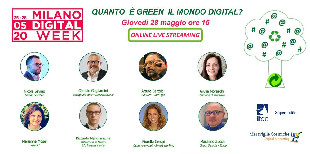 Ospiti Quanto è green il mondo digital